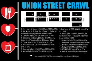 The Union Street Experience (Pub Crawl)