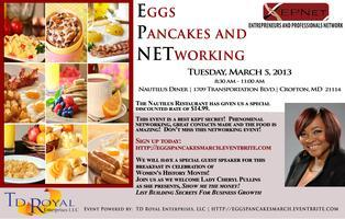 Eggs, Pancakes and Networking (March 5, 2013)