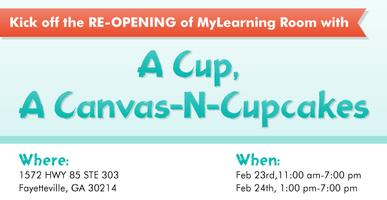 A Cup A Canvas-N-CupCakes