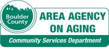 2013 Boulder County AAA Caregiving Symposium