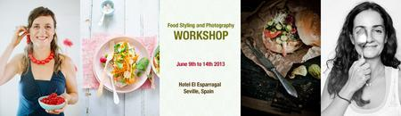 Food Styling and Photography Workshop in Andalusia...