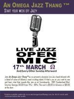 Live JAZZ & Open Mic