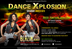 DANCE XPLOSION - RAGGA / DANCEHALL WORKSHOP with...