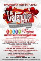 Valentines Day Dinner & Comedy Show At Salsa Con Fuego