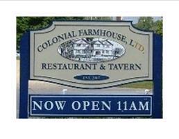 Colonial Farm house Restaurant & Tavern Car Show