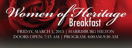 2013 Women Of Heritage Breakfast