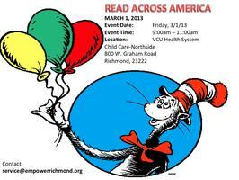 Read Across America Dr Seuss Day - MARCH 1