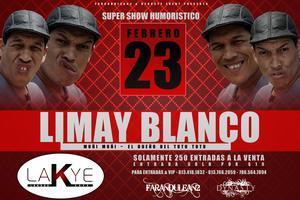 LIMAY BLANCO Y SU SHOW DE COMEDIA EN LAKYE
