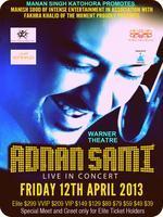 "Musical Genius  ""ADNAN SAMI""  Live In Concert -..."