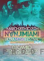 WMC / UMF Miami 2013 w/ DJ CAMILO & MORE VIP PASSES