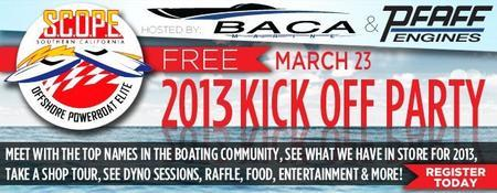 2013 S.C.O.P.E. Kick Off Party - Hosted by BACA MARINE...