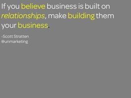 relationships =  business growth