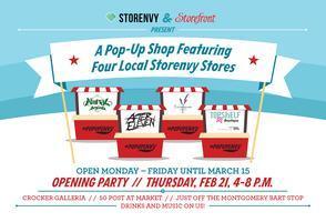 Storefront + Storenvy Pop-Up Party @ Crocker Galleria