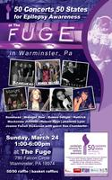 50 concerts 50 states for Epilepsy @ The Fuge in...