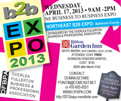 2013 Business to Business Expo - Baltimore County