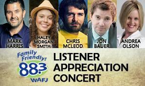 88.3 WAFJ Listener Appreciation Concert