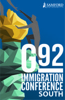 G92 South Immigration Conference