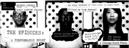 THE EPISODES - A performance event by Brontez Purnell