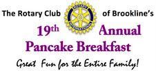 Brookline Rotary Club's 19th Annual Pancake Breakfast