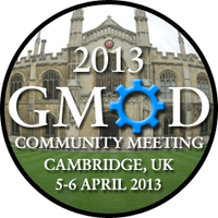 April 2013 GMOD Meeting