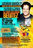 JellyBean Benitez at Babalu lounge