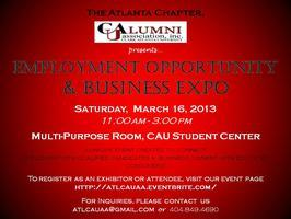 Employment Opportunity and Business Expo