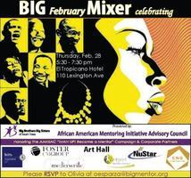 Big Brothers Big Sisters Black History Month Mixer