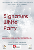 Signature : White Party