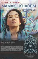 COLOR OF DREAMS: Mamak Khadem& Ensemble Concert @ USC...