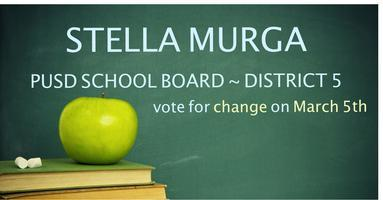 Phone Banking for Stella for PUSD School Board! Help...