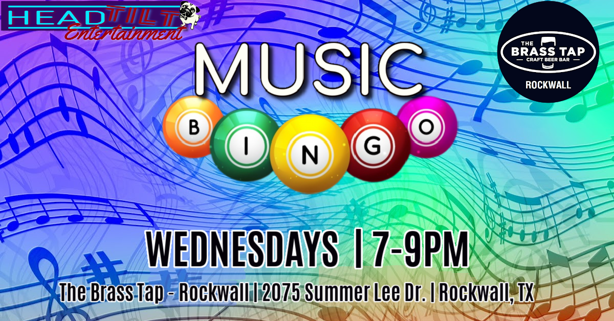 Music Bingo at The Brass Tap- Rockwall,TX