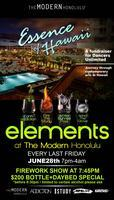 ELEMENTS AT THE MODERN - June 28!