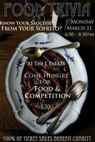 Food Trivia, A Night of Cutthroat Culinary Competition...