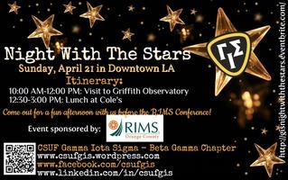 "GIS Inter-Chapter Event: ""Night With The Stars"""