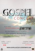 Gospel Jazz Concert     ft. The Gifted Experience Band...