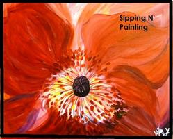 Mask Project Fundraiser Sip N' Paint Flame Fri April...