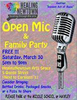 Open Mic - Hosted by Jim Allyn, Robert Rabinowitz, &...