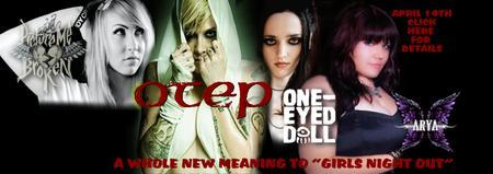 OTEP/ARYA - PICTURE ME BROKEN - ONE EYED DOLL