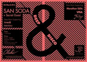 Cliché Presents : Deep & Disco with San Soda (BEL)