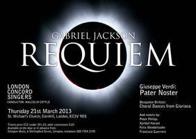 Gabriel Jackson - Requiem