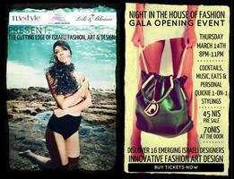 "INVITATION: ""Night in the House of Fashion"" Gala..."