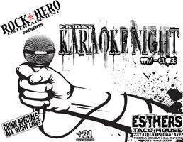 Friday Night Karaoke Party @ Esthers Taco House (Yorba...