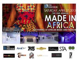 SPYON PRODUCTIONS INC 2ND ANNUAL MADE IN AFRICA 2013