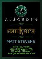 Also Eden - Plus Support Acts - Sankara + Matt Stevens