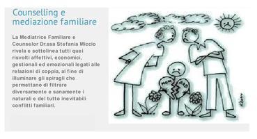 """Seminario in """"Counselling e Mediazione familiare"""""""