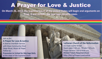 A Prayer for Love & Justice