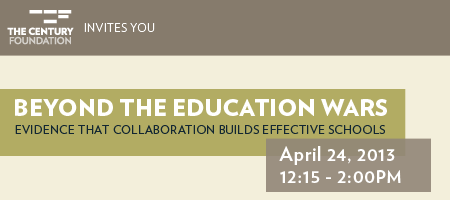 Beyond the Education Wars: Evidence that Collaboration...