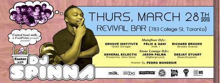 Easter w/ DJ Spinna, Groove Institute, Felix & Gani,...
