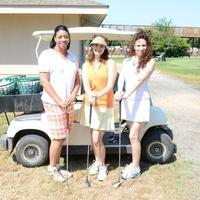 Heels & Helmets Georgia Peach Afternoon Golf Tee:...