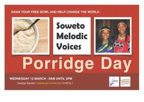 Street Porridge Stall for Soweto Melodic Voices